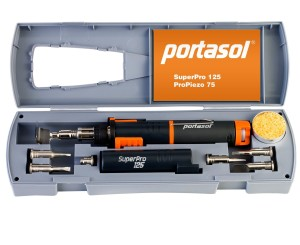 Portasol 010589330 Super Pro 125-Watt Heat Tool Kit